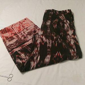Cynthia Rowley ladies silk thin pants